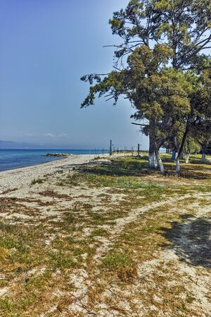Beach of Ormos Prinou, Thassos island, East Macedonia and Thrace, Greece