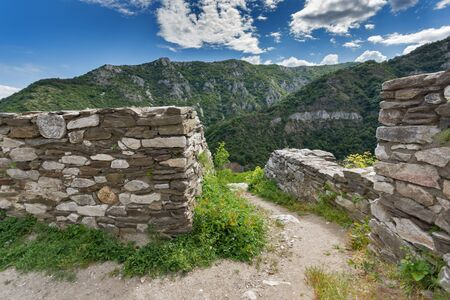 balkan peninsula: Medieval Fortification of Asens Fortress, Asenovgrad, Plovdiv Region, Bulgaria