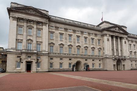 angels fountain: LONDON, ENGLAND - JUNE 17 2016: Buckingham Palace London, England, Great Britain Editorial