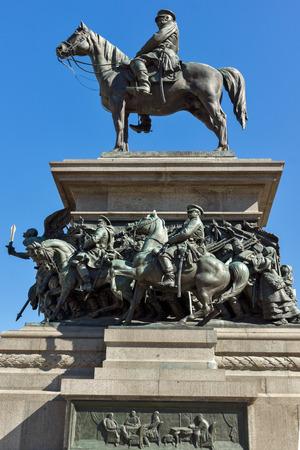liberator: SOFIA, BULGARIA - APRIL 1, 2017: Monument to the Tsar Liberator in Sofia, Bulgaria