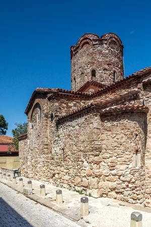 NESSEBAR, BULGARIA - 30 JULY 2014: Church of St. John the Baptist in the town of Nessebar, Burgas Region, Bulgaria Editorial