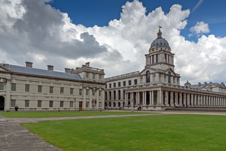 LONDON, ENGLAND - JUNE 17 2016: University of Greenwich, London, England, United Kingdom Editorial