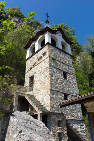 TRANSFIGURATION MONASTERY, VELIKO TARNOVO, BULGARIA - 9 APRIL 2017 : Medieval Monastery of the Holy Transfiguration of God, Veliko Tarnovo region, Bulgaria Editorial