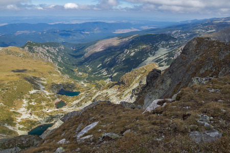 Amazing Landscape from Malyovitsa peak, Rila Mountain, Bulgaria