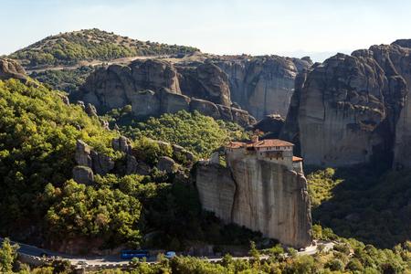 Orthodox Monastery of Rousanou in Meteora, Thessaly, Greece