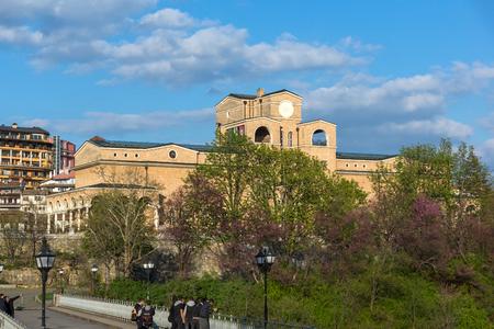 VELIKO TARNOVO, BULGARIA - 9 APRIL 2017: State Art Gallery Boris Denev in city of Veliko Tarnovo, Bulgaria Editorial
