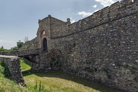 SKOPJE, REPUBLIC OF MACEDONIA - 13 MAY 2017: Skopje fortress (Kale fortress) in the Old Town, Republic of Macedonia Editorial