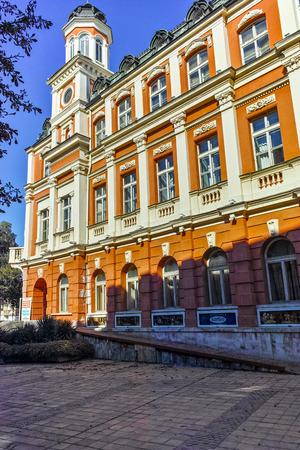 PLEVEN, BULGARIA - 20 SEPTEMBER 2015: Drama Theatre Ivan Radoev in City of Pleven, Bulgaria Editorial
