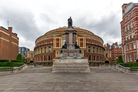 LONDON, ENGLAND - JUNE 18 2016: Amazing view of Royal Albert Hall, London, Great Britain Editorial