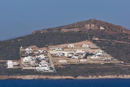 balkans: Panoramic view of Naxos Island, Cyclades, Greece