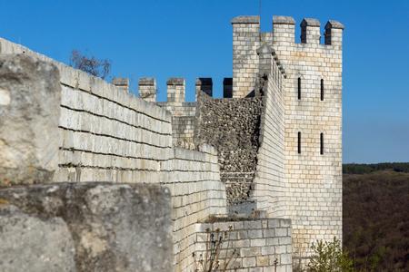 Site archéologique Forteresse de Shumen près de la ville de Shoumen, en Bulgarie Banque d'images - 81175082