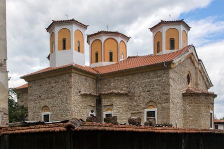 ETROPOLE MONASTERY, BULGARIA - SEPTEMBER 21, 2013:  The Etropole Monastery of the Holy Trinity, Sofia Province, Bulgaria