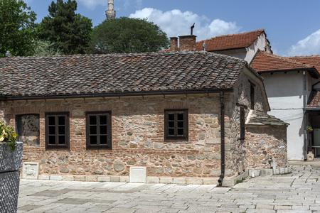SKOPJE, REPUBLIC OF MACEDONIA - 13 MAY 2017: Orthodox Church of the Ascension of Jesus in city of Skopje, Republic of Macedonia