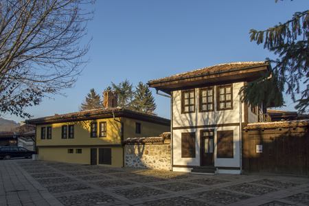 PANAGYURISHTE, BULGARIA - DECEMBER 13, 2013: Building of Historical museum in town of Panagyurishte, Pazardzhik Region, Bulgaria
