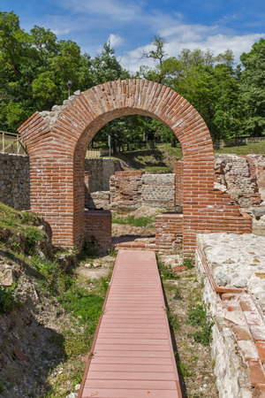 The ancient Thermal Baths of Diocletianopolis, town of Hisarya, Plovdiv Region, Bulgaria