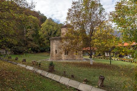Autumn view of The 11th century  Zemen Monastery, Pernik Region, Bulgaria Stock Photo - 97439114