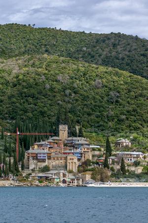 Docheiariou (Dochiariou) monastery at Mount Athos in Autonomous Monastic State of the Holy Mountain, Chalkidiki, Greece