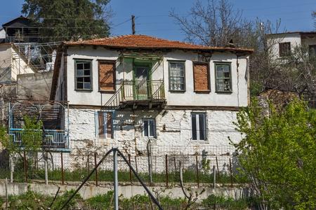 THASSOS, GREECE - APRIL 5, 2016: Village of Maries, Thassos island, East Macedonia and Thrace, Greece Redakční