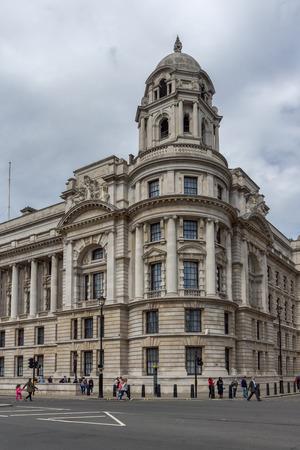 LONDON, ENGLAND - JUNE 16 2016: Whitehall Street,  City of London, England, Great Britain Redakční