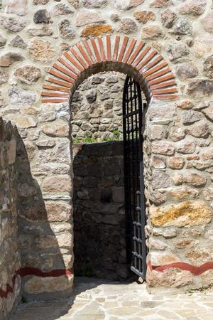 Ruins of Ancient Byzantine fortress The Peristera in town of Peshtera, Pazardzhik Region, Bulgaria