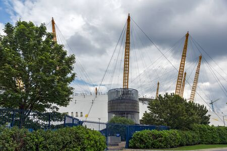 LONDON, ENGLAND - JUNE 17, 2016:  The O2 Arena at Greenwich, London, England, Great Britain