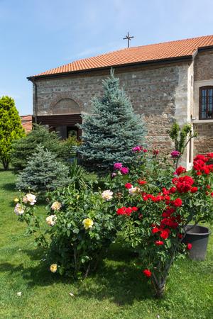 EDIRNE, TURKEY - MAY 26, 2018: Medieval Bulgarian church of Saint Constantine and Saint Helena in city of Edirne,  East Thrace, Turkey 新聞圖片