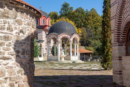Medieval Tsarnogorski (Gigintsy) monastery St. Kozma and Damyan, Pernik Region, Bulgaria