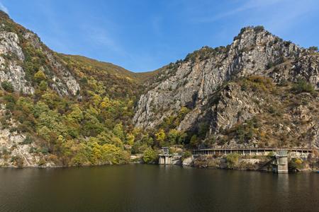 Amazing Autumn ladscape of The Krichim Reservoir, Rhodope Mountains, Plovdiv Region, Bulgaria