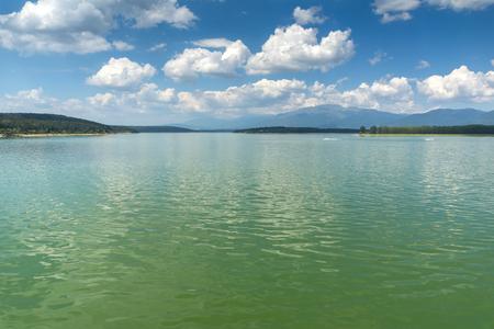 Amazing Summer view of Koprinka Reservoir, Stara Zagora Region, Bulgaria