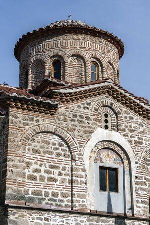 BACHKOVO MONASTERY, BULGARIA - FEBRUARY 4, 2019: Buildings in Medieval Bachkovo Monastery Dormition of the Mother of God, Bulgaria 스톡 콘텐츠 - 129378853
