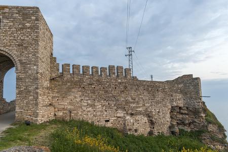 Sunset view of Ruins of fortress at Kaliakra Cape at Black Sea Coast,  Dobrich Region, Bulgaria Reklamní fotografie