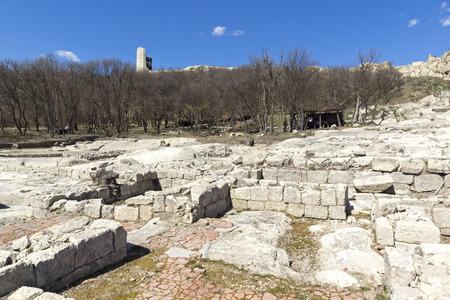 Ruins of Ancient sanctuary city Perperikon, Kardzhali Region, Bulgaria