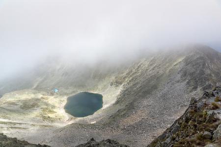 Amazing Panorama from Musala peak, Rila mountain, Bulgaria