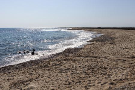 Famous Beach at Possidi Cape, Kassandra Peninsula, Chalkidiki, Central Macedonia, Greece