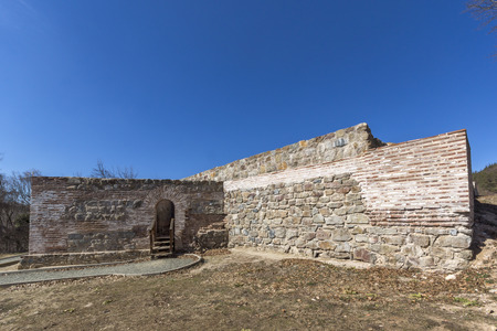 Ruins of Ancient Roman fortress The Trajan's Gate, Sofia Region, Bulgaria
