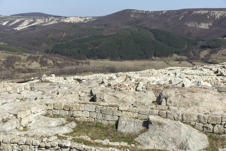 Ruins of Ancient sanctuary city Perperikon, Kardzhali Region, Bulgaria