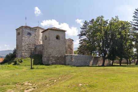 Outside view of Ruins of Historical Pirot Fortress, Southern and Eastern Serbia