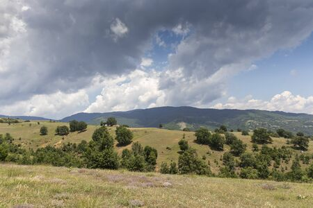 Summer Landscape of Ograzhden Mountain, Blagoevgrad Region, Bulgaria