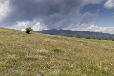 Summer Landscape of Ograzhden Mountain, Blagoevgrad Region, Bulgaria