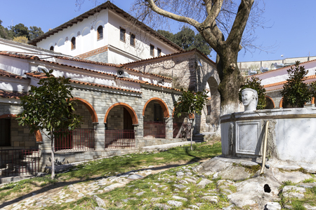 Medieval Holy Monastery of Holy Mary Eikosifoinissa, Central Macedonia, Greece