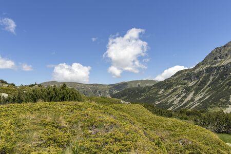 Landscape near The Fish Lakes (Ribni Ezera), Rila mountain, Bulgaria