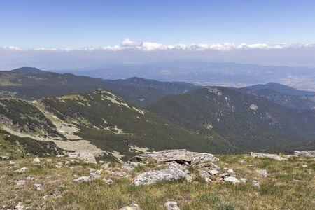 Amazing Landscape from Belmeken Peak, Rila mountain, Bulgaria