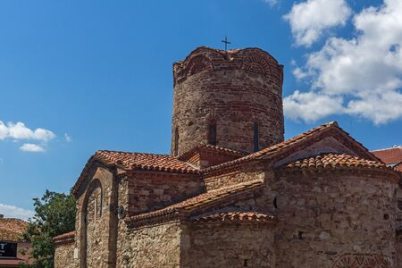 Ancient Church of Saint John the Baptist in the town of Nessebar, Burgas Region, Bulgaria Stock Photo