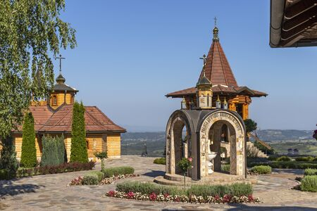 Medieval Lesje monastery Dedicated to of the Blessed Virgin Mary, Sumadija and Western Serbia