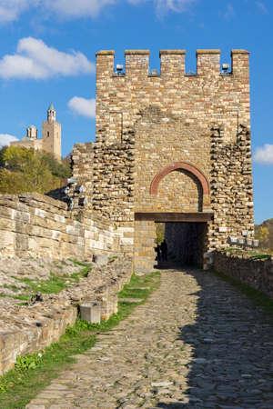 Ruins of The capital city of the Second Bulgarian Empire medieval stronghold Tsarevets, Veliko Tarnovo, Bulgaria