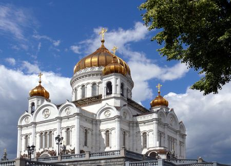 Temple of Christ the savior - Moscow photo