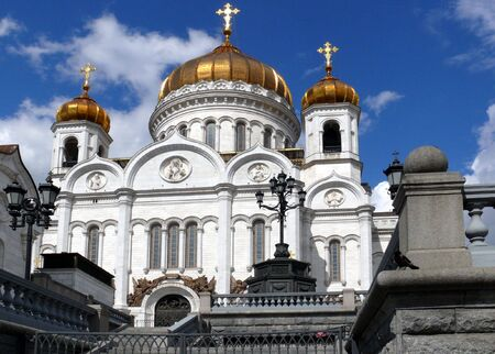Temple of Christ the savior - Moscow