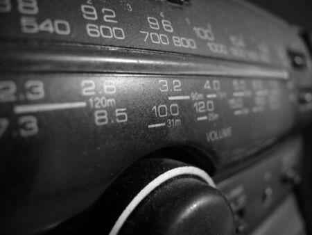 Scale of the Radio Stock Photo