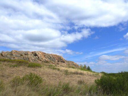 View to mountain