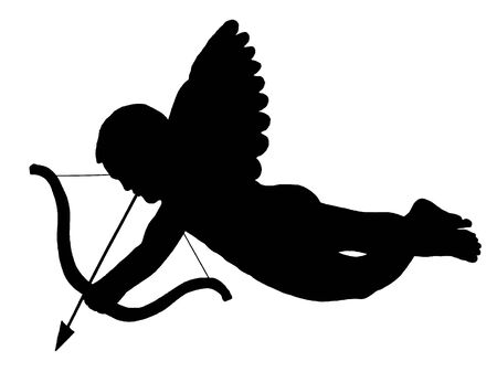 Symbol of Cupid angel photo